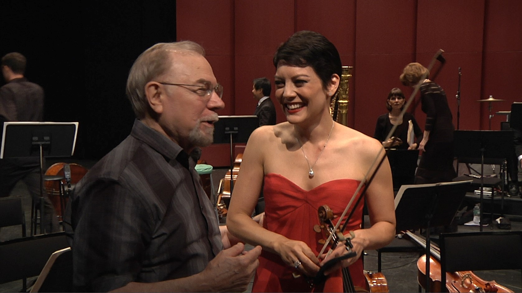 ANNE AKIKO MEYERS PREMIERES SAMUEL JONES' NEW VIOLIN CONCERTO